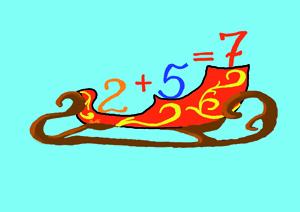"""Сказка про цифру 7 из книги """"Учимся считать"""""""